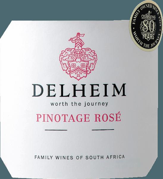 Pinotage Rosé Stellenbosch WO 1,5 l Magnum 2020 - Delheim von Delheim Wines