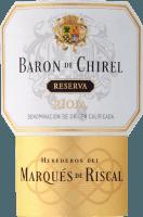 Vorschau: Baron de Chirel Reserva Rioja DOCa 2014 - Marqués de Riscal