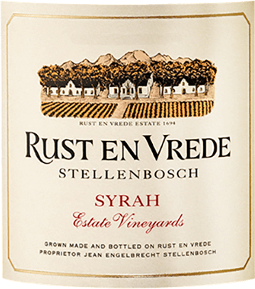 Estate Vineyards Shiraz 2018 - Rust en Vrede Estate von Rust en Vrede