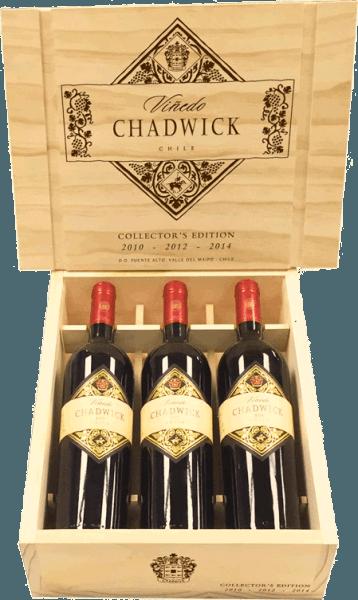 3er HK Kollektion Viñedo Chadwick - Viña Errazuriz