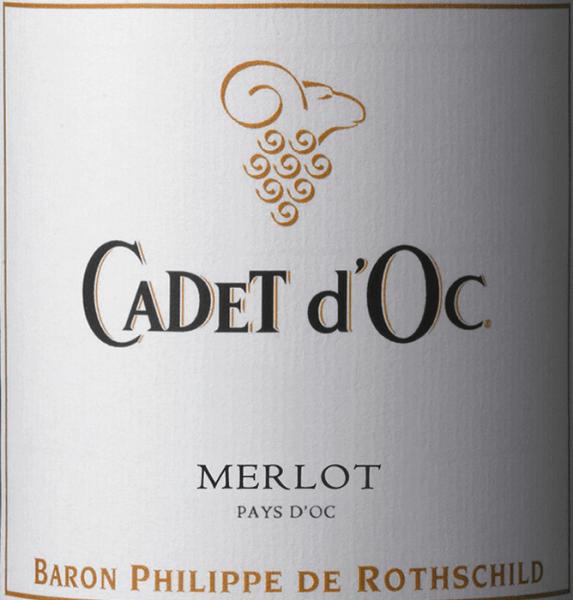 Cadet d'Oc Merlot 2018 - Baron Phillippe de Rothschild von Baron Philippe de Rothschild SA