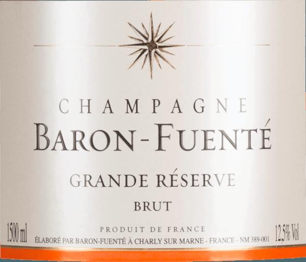 Grande Réserve Brut 1,5 l Magnum - Champagne Baron-Fuenté von Champagne Baron-Fuenté