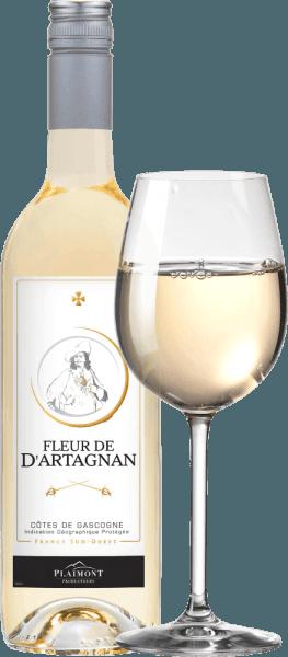 Fleur de d'Artagnan Blanc Côtes de Gascogne 2019 - Plaimont von Fleur de d´Artagnan