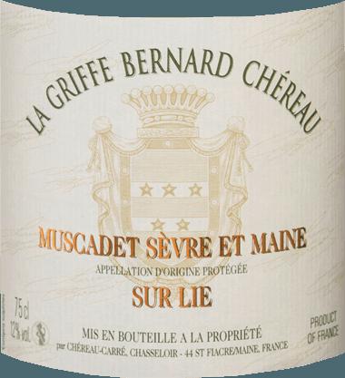 La Griffe Bernard Chéreau AOC Muscadet Sèvre et Maine sûr Lie 2019 - Chéreau Carré von Chéreau Carré