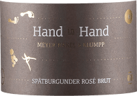 Vorschau: Hand in Hand Spätburgunder Rosé Sekt brut 2019 - Meyer-Näkel & Klumpp