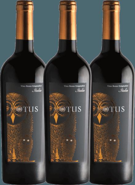 3er Vorteils-Weinpaket - Asio Otus Vino Varietale d'Italia - Mondo del Vino