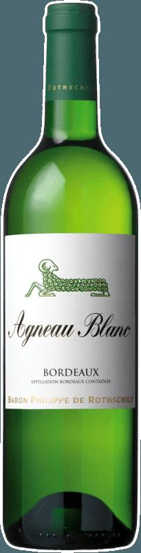Baron Philippe de Rothschild SA Agneau Blanc Bordeaux AOC 2014 - Baron Rothschild
