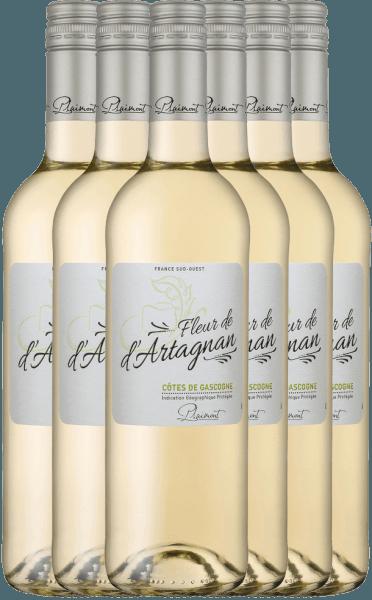6er Vorteils-Weinpaket - Fleur de d'Artagnan Blanc 2020 - Plaimont
