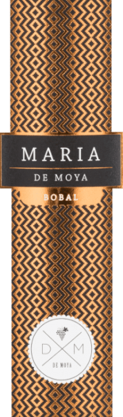 For Maria Bobal from Bodega De Moya, this is an expressive cuvée made from Bobal and Merlot grapes. Each red wine is a tribute to the women in the Larijssen family. This powerful cuvée is named after the older daughter Maria. This Spanish wine presents itself full-bodied, intense and in a dark ruby red in the glass. The multi-faceted bouquet opens on the nose with fine spicy aromas, followed by vanilla, coconut, berries, dried fruits and jam. On the palate, this wine has a powerful, round character that blends perfectly with the aromas of ripe fruits and soft, well integrated tannins. The finish convinces with a wonderful length and a fine beery-spicy touch. Vinification of De Moya Maria Bobal This red wine is a cuvée of 90% Bobal and 10% Merlot from the Bodega De Moya's own vineyards in the mountains behind Valencia, not far from the Spanish Mediterranean coast. The grapes grow at an altitude of 850 metres, on sandy and clay soils, poor in nutrients, with many pebbles, on vines that are between 15 and 40 years old. The yields are low and the grapes are harvested selectively by hand in 15 kg crates. After the harvest, the grapes are cooled to 4° for 24 hours. During the temperature-controlled maceration process, which lasts 26 to 34 days in steel tanks, the cap is manually lifted under the grapes. No pressed grapes are used. The ageing takes place over a period of 12 months in selected French oak barriques. Food recommendation for the Maria Bobal from Bodega de Moya This powerful, round Spanish red wine from the Valencia region goes very well with a traditional Spanish meat paella, pasta with slightly stronger sauces, roasted or grilled poultry, red meat, Spanish ham or chorizo. At the same time a great soloist.