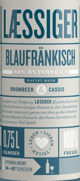 Blaufränkisch 2017 - Laessiger von Laessiger