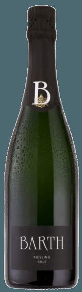 Der Barth Riesling brut b.A. vom Wein- und Sektgut Barth umschmeichelt die Nase mit den köstlichen Aromen von saftigem Pfirsich, reifer Aprikose und erfrischender Ananas. Für diesen Sekt ist die Rieslingnote charakteristisch, welche ihn erfrischend und fruchtig schmecken lässt. Vinifikation für den Wein- und Sektgut Barth Riesling brut Für diesen reinsortigen Schaumwein werden nur vollreife und handverlesen selektierte Riesling-Trauben verwendet. Diese werden schonend als ganze Trauben gepresst und nach der Methode der traditionellen Flaschengärung versektet. Dieser Sekt reift 2 Jahre auf der Hefe und wird regelmäßig von Hand gerüttelt. Speiseempfehlung für den Wein- und Sektgut Barth Riesling brut Genießen Sie diesen Rieslingsekt als Aperitif, zu sommerlichen Salaten oder Crostini mit einer Artischocken-Zitronen-Creme.