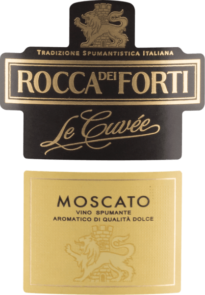 Le Cuvée Moscato Spumante Brut - Rocca dei Forti von Rocca dei Forti
