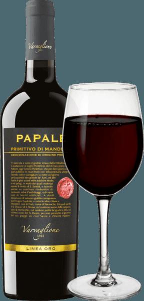 Papale Linea Oro Primitivo di Manduria DOP 2016 - Varvaglione von Varvaglione