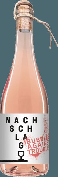 Nachschlag Bubbles against troubles Pink 2020 mit Kordel - Winzerhof Stahl