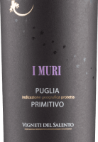 Vorschau: I Muri Primitivo Puglia IGP 2020 - Vigneti del Salento