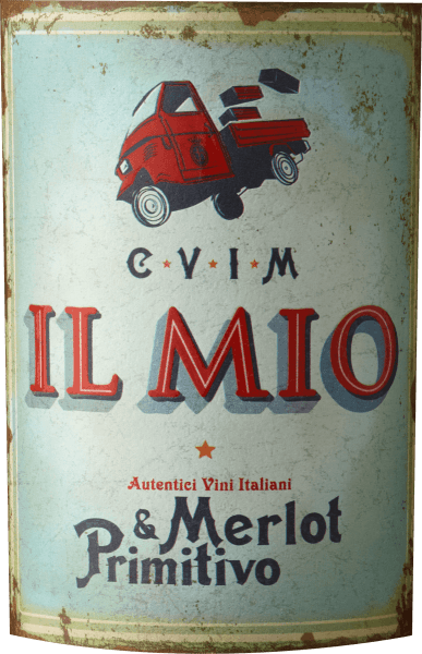 In the glass, the Merlot & Primitivo Puglia from the pen of Collezione Il Mio reveals a bright purple-red colour. On the nose, this Collezione Il Mio red wine reveals all kinds of fruit breads, morello cherries, blueberries, dried fruits and blackberries. On the tongue, this balanced red wine is characterised by an exceptionally melt-in-the-mouth texture. Due to the balanced fruit acidity, the Merlot & Primitivo Puglia flatters with a soft mouthfeel, without lacking juicy liveliness. The finale of this red wine from the Puglia wine growing region, more precisely from Puglia IGT, finally captivates with a beautiful aftertaste. Vinification of the Collezione Il Mio Merlot & Primitivo Puglia The balanced Merlot & Primitivo Puglia from Italy is a cuvée made from the Merlot and Primitivo grape varieties. After the manual harvest the grapes reach the press house as quickly as possible. Here they are selected and carefully broken up. This is followed by fermentation in stainless steel tanks at controlled temperatures. At the end of fermentation, the Merlot & Primitivo Puglia can continue to harmonise on the fine yeast for a few months. Food recommendation for Collezione Il Mio Merlot & Primitivo Puglia This Italian red wine is best enjoyed at a temperature of 15 - 18°C. It is a perfect accompaniment to lemon-chili chicken with bulgur, veal boiled beef with beans and tomatoes or leek soup.