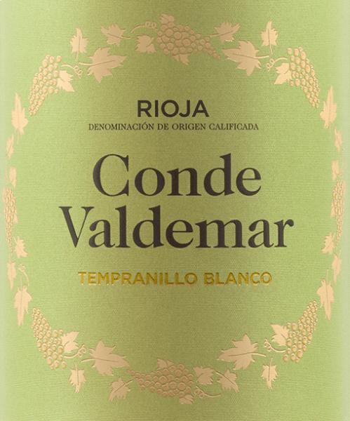 Conde Valdemar Tempranillo Blanco Rioja DOCa 2019 - Bodegas Valdemar von Bodegas Valdemar