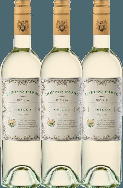 3er Vorteils-Weinpaket - Doppio Passo Grillo Sicilia DOC 2020 - CVCB