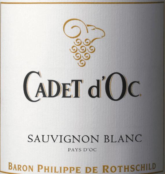 Cadet d'Oc Sauvignon Blanc 2019 - Baron Phillippe de Rothschild von Baron Philippe de Rothschild SA