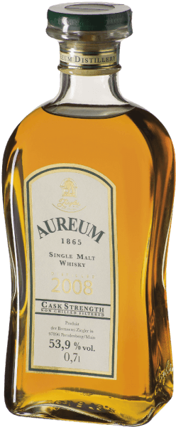 Aureum 1865 Fassstärke Single Malt Whisky 0,7l - Ziegler