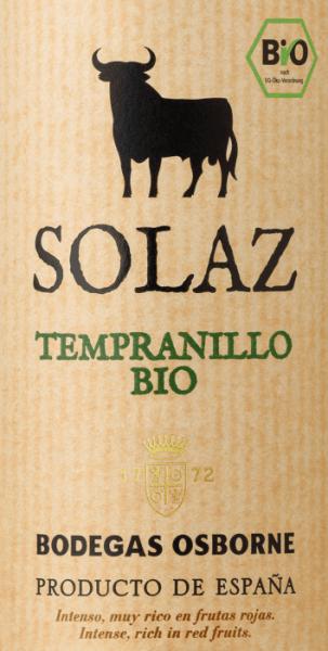 Tempranillo 2019 - Osborne Solaz von Osborne