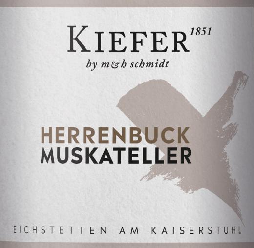 Herrenbuck Muskateller Kabinett halbtrocken 2019 - Weingut Kiefer von Weingut Kiefer