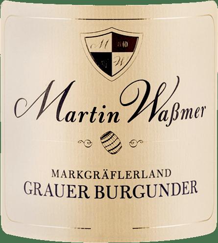 Markgräflerland Grauburgunder SW 2018 - Martin Waßmer von Martin Waßmer
