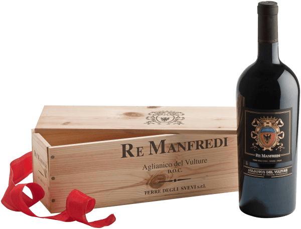 Re Manfredi Aglianico del Vulture DOC 1,5 l Magnum 2012 - Re Manfredi