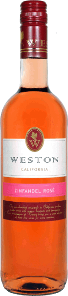 Zinfandel Rosé 2018 - Weston Estate Winery