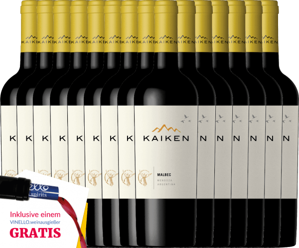 15er Vorteils-Weinpaket - Kaiken Malbec 2018 - Viña Kaiken von Bodega Kaiken