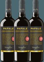 3er Vorteils-Weinpaket - Papale Linea Oro Primitivo di Manduria 2017 - Varvaglione
