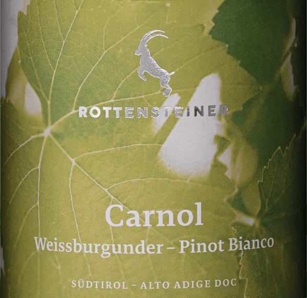 Carnol Weißburgunder 2018 - Rottensteiner von Rottensteiner