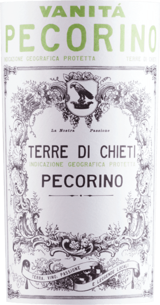 The Vanita Pecorino Terre di Chieti from the Abruzzo wine region, aged in casks, presents itself in the glass in a brilliant shimmering light yellow. Ideally poured into a white wine glass, this white wine from the Old World reveals wonderfully elegant aromas of Nashi pear, apple, quince and pear, rounded off by dark chocolate, oriental spices and cocoa beans, which are all added by the barrel ageing. This dry white wine by Farnese Vini is just the right thing for wine lovers who like it absolutely dry. The Vanita Pecorino Terre di Chieti already comes quite close to this, as it was pressed with just 6 grams of residual sugar. On the tongue, this light-footed white wine is characterised by an incredibly dense texture. The Vanita Pecorino Terre di Chieti presents itself wonderfully fresh and lively on the palate due to its vital fruit acidity. In the finish, this storable white wine from the Abruzzo wine growing region finally inspires with good length. Once again there are hints of quince and Nashi pear. Vinification of the Farnese Vini Vanita Pecorino Terre di Chieti This white wine clearly focuses on one grape variety, namely Pecorino. Only immaculate grapes were harvested for this wonderfully elegant varietal wine from Farnese Vini. The berries for this white wine from Italy, when perfectly ripe, are harvested exclusively by hand. After the harvest the grapes are immediately taken to the winery. Here they are selected and carefully broken up. This is followed by fermentation in stainless steel tanks at 12 °C. The fermentation is followed by a maturation for several months in large oak barrels and stainless steel tanks. Recommended food for the Vanita Pecorino Terre di Chieti by Farnese Vini Experience this white wine from Italy ideally well chilled at 8 - 10°C as an accompaniment to coconut-lime fish curry, vegetable salad with beetroot or wok vegetables with fish.