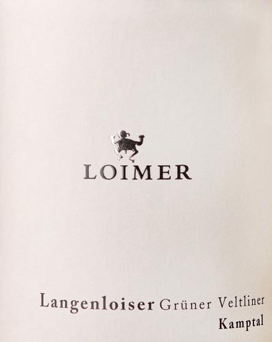 Langenloiser Grüner Veltliner DAC 2019 - Weingut Loimer von Weingut Loimer