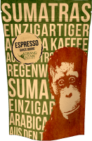 Orang-Utan Espresso - Speicherstadt Kaffeerösterei