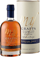 My Grappa Affinata in Barrique Selection 0,5 l in Geschenkverpackung - Lorenzo Inga