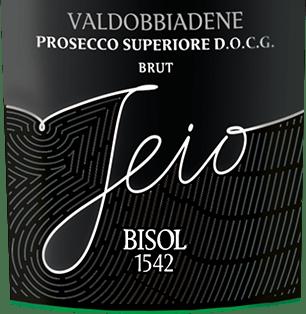 Jeio Prosecco Superiore Brut DOCG - Bisol von Bisol 1542
