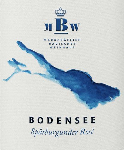 Bodensee Spätburgunder Rosé 2018 - Markgräflich Badisches Weinhaus von Markgräflich Badisches Weinhaus
