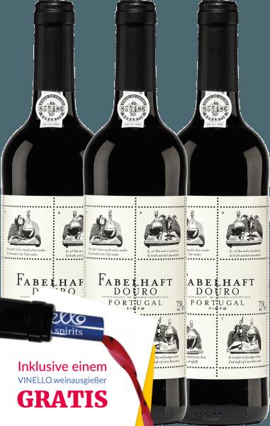3er Vorteils-Weinpaket Fabelhaft Tinto Douro DOC 2019 - Niepoort von Niepoort