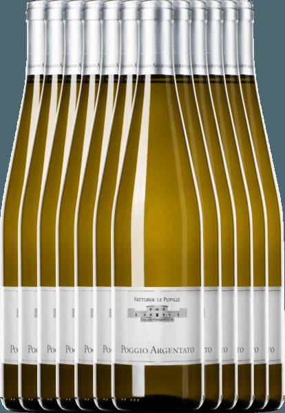 12er Vorteilspaket - Poggio Argentato Toscana Bianco IGT - Le Pupille
