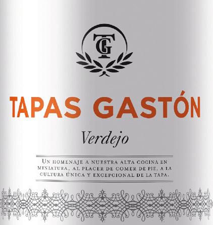 Tapas Gaston Verdejo 2019 - Zuazo Gaston von Zuazo Gastón
