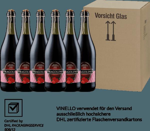 6er Vorteilspaket - Fragolino Rosso - Masseria la Volpe von Masseria la Volpe