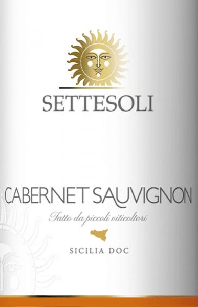 Cabernet Sauvignon Sicilia DOC 2018 - Cantine Settesoli von Cantine Settesoli