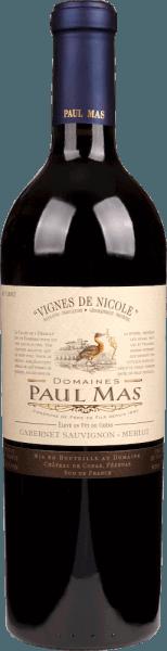 Vignes de Nicole Cabernet Sauvignon Merlot Pays 1,5 l Magnum 2018 - Domaine Paul Mas von Domaine Paul Mas