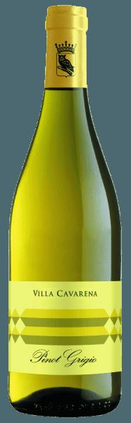 Im Weinglas erstrahlt derVilla Cavarena Pinot Grigio von Allegrini in einem satten Strohgelb. Das Bouquet wird getragen von rebsorten-typischen Grünnoten und feinen Anklängen an Akazienblüte. Mit der trockenen und frischen Art überzeugt der Weißwein auch den Gaumen und bleibt mit der ausgeprägten, vollen Würze in Erinnerung. Speiseempfehlung für den Allegrini Pinot Grigio Villa Cavarena DerVilla Cavarena Pinot Grigio von Allegrini ist ein wahrer Genuss zu gegrillten Fischspeisen und Meeresfrüchten. Auch zu einem Obstsalat mit exotischen Früchten ein perfekter Begleiter.
