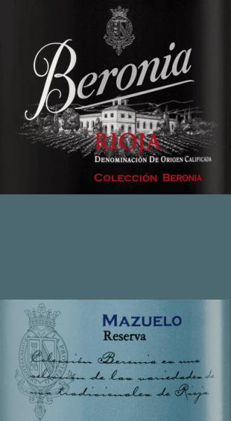 """Der Mazuelo Reserva Rioja von Beronia ist ein herausragender, sortenreiner Rotwein aus dem spanischen Anbaugebiet Rioja. Im Glas leuchtet dieser Wein in einem glänzenden Rubinrot mit dunklen Schattierungen. Das intensive Bouquet offenbart herrlichen Aromen nach eingelegten Früchten, getrockneten Aprikosen, süß gereifte Beeren und dezente Anklänge an mediterranen Gewürzen. Am Gaumen präsentiert dieser spanische Rotwein mit einem kraftvollen und lebendigen Charakter, der von ausdruckstarken Noten nach saftigen Kirschen, feinen Gewürzen und einem Touch Kakao ummantelt wird. die Textur ist wunderbar strukturiert, vollmundig und harmonisch ausgewogen. Der Ausbau im Eichenfass rundet mit der frischen Säure das lange Finale perfekt ab. Vinifikation des Beronia Reserva Mazuelo Nach der Lese der Mazuelo-Trauben werden diese umgehend in den Beronia Weinkeller gebracht und eingemaischt. Die Trauben werden auf der Maische langsam vergoren. Dadurch werden die Farbpigmente und die typischen Rebsortenaromen aus den Schalen extrahiert. Um diese Extraktion zu erhöhen, wir die Maische regelmäßig umgepumpt - das Umpumpen bewirkt zudem das die Maische mehr mit Sauerstoff in Kontakt kommt und die Tannine besänftigt werden. Ist die alkoholische Gärung und der biologische Säureabbau abgeschlossen, wird dieser Rotwein in Barriques aus französischer und amerikanischer Eiche für insgesamt 26 Monate ausgebaut. Beronia hat hierfür speziell angefertigte """"gemischte"""" Fässer, die aus beiden Eichenholzsorten bestehen. Nach dem Holzausbau wird der Wein abgezogen und auf die Flasche gefüllt. Hier ruht dieser Wein im Weinkeller für weitere 12 Monate. Speiseempfehlung für den Rioja Mazuelo Reserva von Beronia Genießen Sie diesen trockenen Rotwein aus Spanien zu Rinderfilet auf Kartoffelstampf mit gerösteten Zwiebeln, Wildschweinbraten in dunkler Sauce oder auch zu gereiften Käsesorten."""