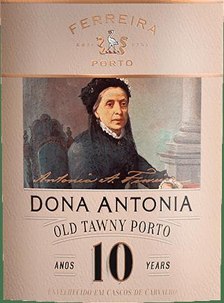 Dona Antónia Tawny 10 Years Old - Porto Ferreira von Ferreira Porto