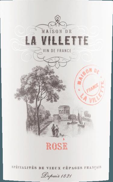 Grenache Cinsault Rosé 2019 - Maison de La Villette von Maison de La Villette