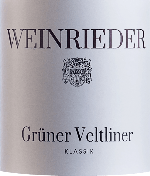 The light-footed Klassik Grüner Veltliner Weinviertel DAC from Weinrieder comes into the glass with a brilliant platinum yellow colour. The bouquet of this white wine from Lower Austria convinces with nuances of pear, peach, mirabelle plum and nashi pear. If we trace the aroma further, garrigue, black tea and oriental spices are added This dry white wine from Weinrieder is ideal for wine drinkers who would ideally have 0.0 grams of sugar in their wine. The Klassik Grüner Veltliner Weinviertel DAC already comes very close to this, as it was vinified with just 1 gram of residual sugar. On the palate, the texture of this light-footed white wine is wonderfully light and crisp. Due to the balanced fruit acidity, the Klassik Grüner Veltliner Weinviertel DAC flatters with a pleasing mouthfeel, without lacking juicy liveliness. The finale of this white wine from the wine-growing region of Lower Austria, more precisely from the Weinviertel, finally delights with a good reverberation. The finish is also accompanied by mineral facets of the soils dominated by loess and clay. Vinification of the Klassik Grüner Veltliner Weinviertel DAC from Weinrieder The elegant Klassik Grüner Veltliner Weinviertel DAC from Austria is a single-varietal wine, vegan vinified from the grape variety Grüner Veltliner. In Lower Austria, the vines that produce the grapes for this wine grow on soils of loam and loess. The berries for this white wine from Austria are harvested exclusively by hand at the time of optimal ripeness. After the hand harvest, the grapes reach the winery by the fastest route. Here they are selected and carefully broken up. Fermentation then takes place in stainless steel tanks at controlled temperatures. At the end of fermentation, the Klassik Grüner Veltliner Weinviertel DAC can continue to harmonize on the fine lees for 6 months. Food recommendation for the Weinrieder Klassik Grüner Veltliner Weinviertel DAC Enjoy this vegan white wine from Austria best well chilled at 8 - 1
