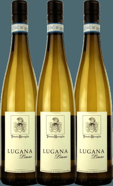 3er Vorteils-Weinpaket - Limne Lugana DOC 2019 - Tenuta Roveglia von Tenuta Roveglia